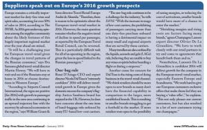 DFNI comment on Europe prospects - Jan 2016