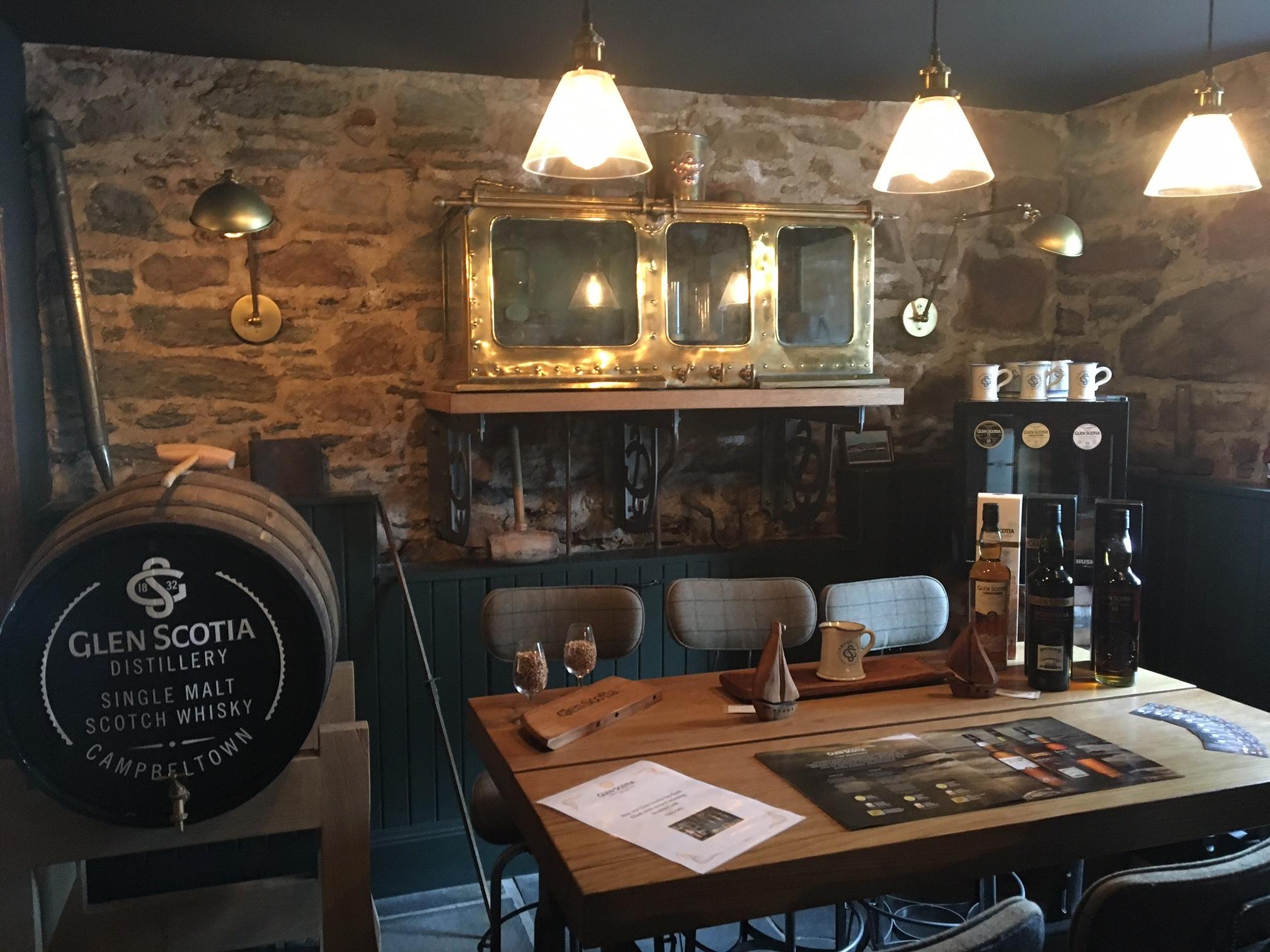 glen scotia shop