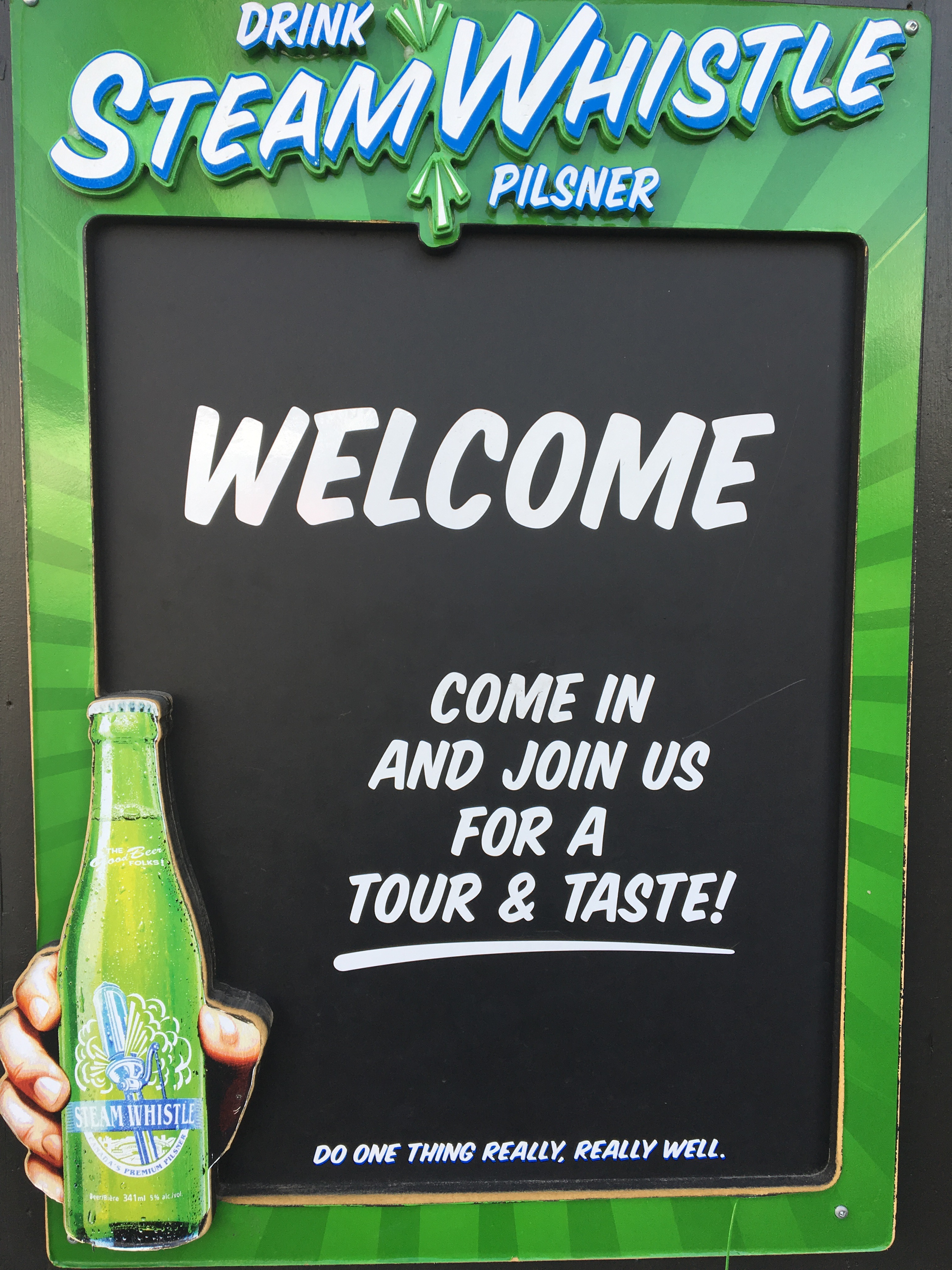 steam-whistle-welcome-sign